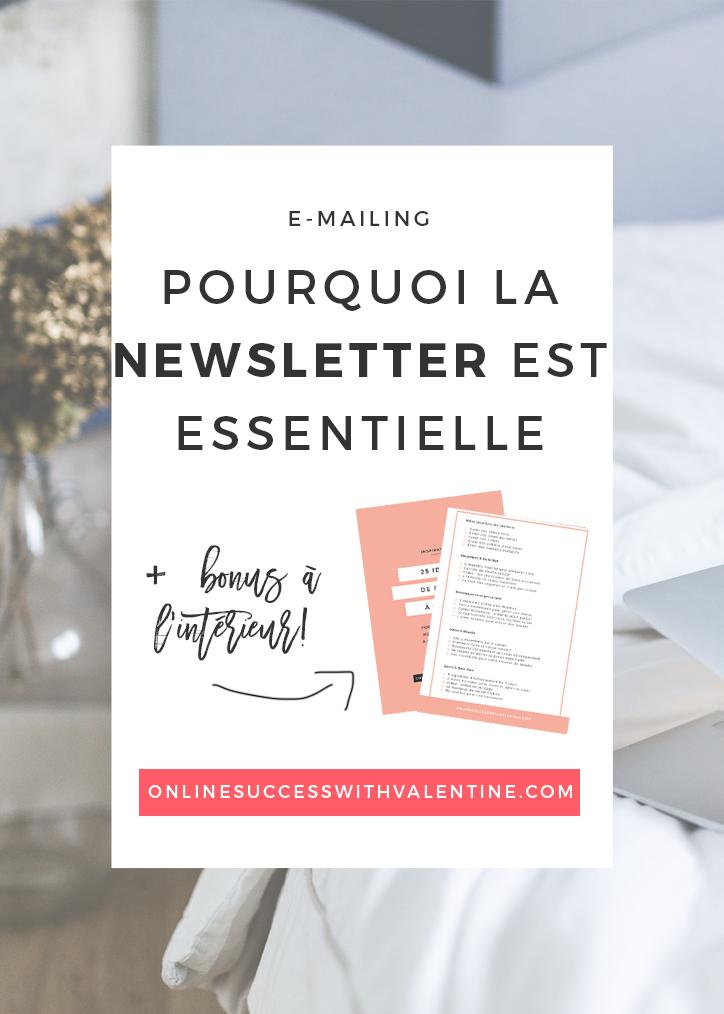 Pourquoi la newsletter est essentielle à votre business?